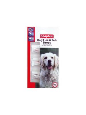 Beaphar Large Dog Flea Drops 12 Week