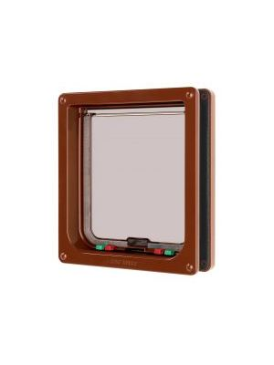 Pet Mate Large Cat Flap Brown
