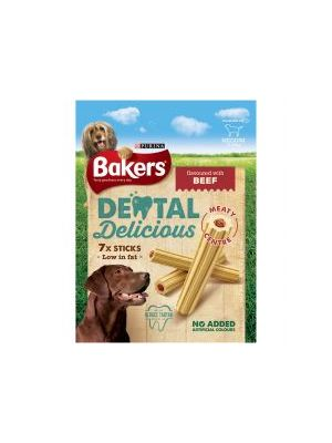 Bakers Dental Delicious Medium Beef