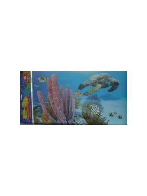 Animate Tank Background 3D Sea Turtle