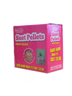 Suet To Go Berry 3kg Suet Pellets