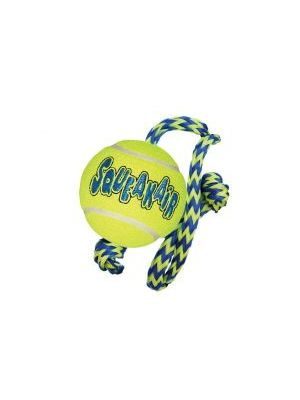 KONG AirDog Squeakair Ball w/Rope Medium