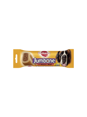 Pedigree Jumbone Large Dog Treat with Beef 1 Chew