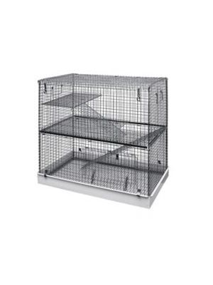 Lazy Bones Wire Rodent Cage Double Storey