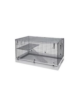 Lazy Bones Wire Rodent Cage Single Storey