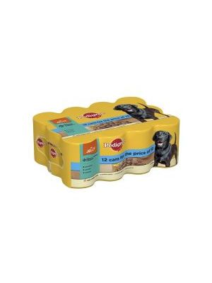Pedigree Mixed Chunks in Jelly 12 Pack