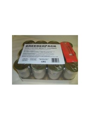 Breederpack 4 Star Dog Chunks Dents