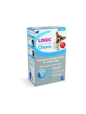 Logic Orozyme Chews - Small Dog - 25 Chews