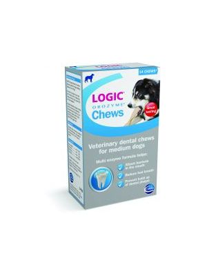 Logic Orozyme Chews - Medium Dog - 14 Chews