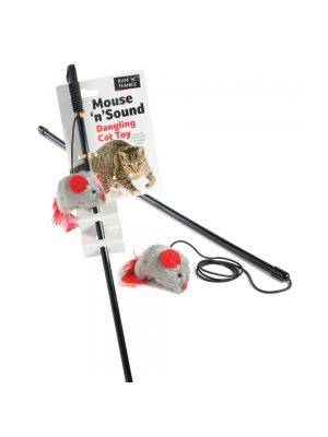 Ruff 'N' Tumble Mouse 'N' Sound Cat Dangler
