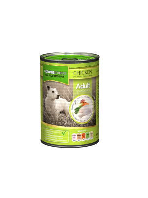 Natures Menu Chicken Dog Food Cans. (Pack of 12)