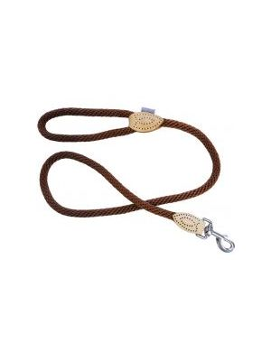 Hem & Boo Trigger Soft Rope Lead Brown