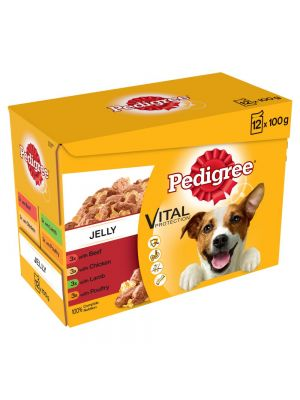 Pedigree Pouch in Jelly Favourites 12 Pack