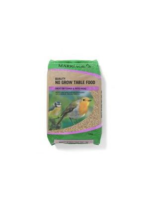 Marriages Won't Grow Table Mix