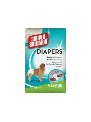 Simple Solution Disposable Diapers XLarge