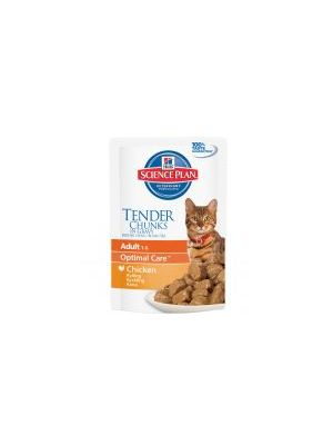 Hills Science Plan Feline Adult Tender Chunks in Gravy with Chicken
