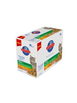 Hills Science Plan Kitten Tender Chunks in Gravy Poultry Multipack