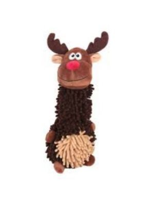 Animate Reindeer Noodle Dog Toy