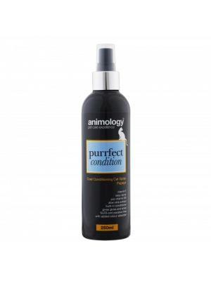 Animology Purrfect Condition Cat Coat Conditioning Spray 250ml - Papaya